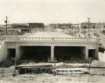 South Main Street Underpass, July 1931