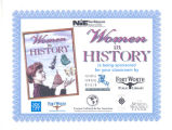 Women in History Certificate