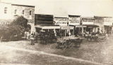 Street Scene of Early Fort Worth