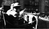 Soldiers in Jeep- Armistice Day Parade